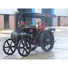 Savage 'Little Samson' Live Steam Traction Engine (Scale Half Full Size)