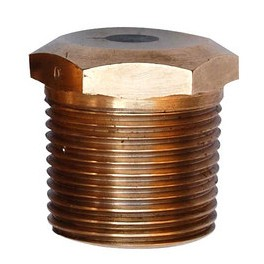 "Live Steam Bronze Fusible Plug 1/2"" - 3/4"" - 1"" - 1 1/4"" - 1 1/2"" - Traction Engine Locomotive"