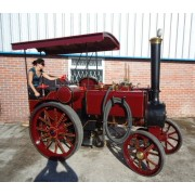 The 'NEW' Tasker 'Little Giant' Live Steam Traction Engine (Large 3/4 Scale of Full Size)